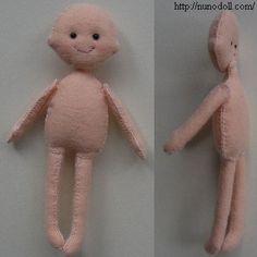 felt dolls with pattern craft, felt dolls, doll patterns, doll idea, baby dolls, muñeca fieltro, felt idea, boneca, feltro
