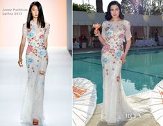 Dita von Teese In Jenny Packham – Dita Von Teese and Cointreau Launch Cointreau Poolside Soirees Event