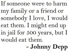 oh johnny depp...you are a funny one