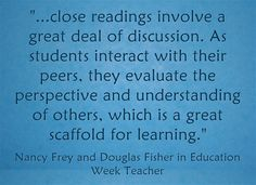 Authors Doug Fisher and Nancy Frey share tips on scaffolding for complex texts