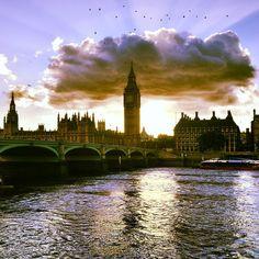 Westminster Bridge in London, Greater London