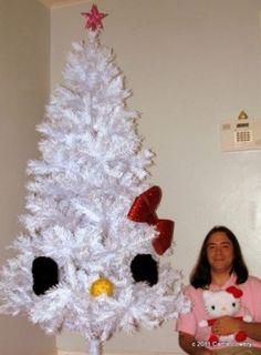 xmas trees, hello kitti, dreams, decorated christmas trees, girl bedrooms, kitti christma, 5 years, hello kitty, kitti tree