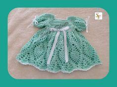 PATTERN+PT096++Crochet+Baby+Short+Sleeves+by+PatternsDesigner,+$6.50