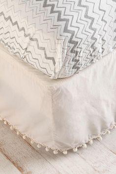 ball fringe bedskirt
