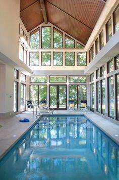 Indoor Pool    www.benchmarkwoodstudio.com  www.mikeschaapbuilders.com
