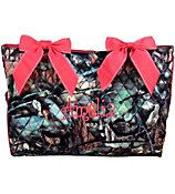 Personalized BNB Woodland Camo Quilted Diaper Bag on Etsy, $36.00
