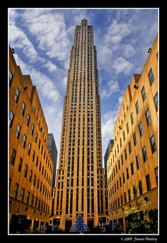 The Rock  Rockefeller Center in New York City.