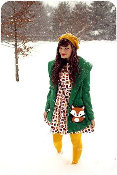 Style Gallery | ModCloth's Fashion Community #winter #layers