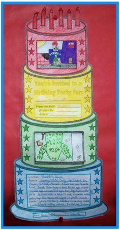 birthday cake book report