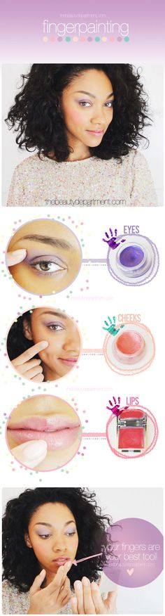 Our fingers are our best tools!! Click through to find out why and all you need to know to make up your entire face with only your fingers!