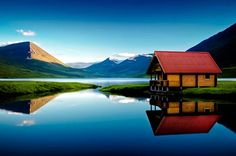 Still Water, Olafsfjordur, Iceland  photo via marit