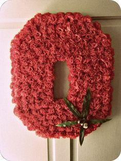 wreaths for ohio state | Flower Themed Ohio State Buckeyes Wreath. | Ohio
