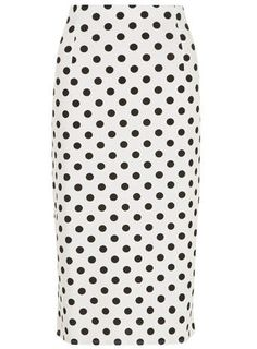 Spotted Highwaisted Pencil Skirt