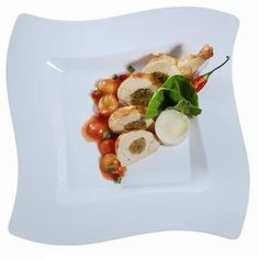 11.25 Wavetrends White Plastic Plates - Smarty Had a Party