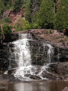 Lower and Middle Gooseberry Falls