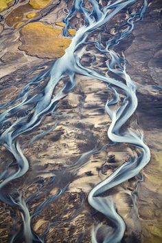 Iceland from above by Axel Sigurðarson