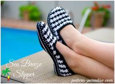 New #crochet slippers pattern from @patternparadise