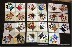 Wings Falls Quilter's Guild in New York used Bonnie's Addicted to Scraps block from the March/April '11 Quiltmaker for their Block of the Month. They also made a set of blocks for Bonnie and gifted them to her when she visited! http://quiltville.blogspot.com/2013/05/gifted-baskets.html?showComment=1370053648794#c2765733010064817082