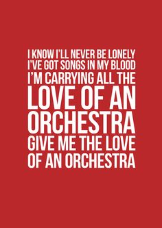love of an orchestra