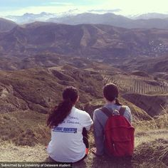 Granada students hiked the Beas de Granada in Granada, Spain! The view was absolutely beautiful and absolutely worth the hike up!