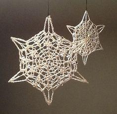 Ravelry: Tähti pattern by Virpi Tarvo - #crochet snowflake