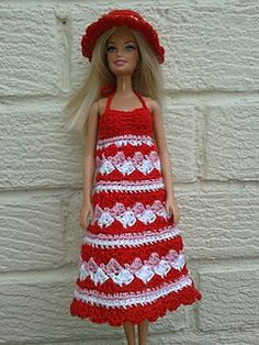Summer Dress & Hat - free on Ravelry