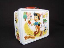 """""""Pinnochio"""" Lunch Box"""