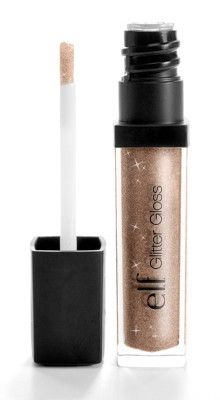 e.l.f. Studio Glitter Gloss in Golden Glitz