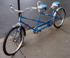 bicycles, tandem bike, bike rides, bicycl built, memories, fun, multirid bicycl, blues, heart bike