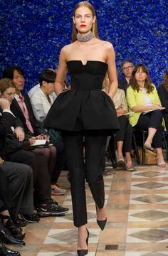 Raf Simons Presents His First Christian Dior Fall 2012 Couture Collec #oscardresses #oscarfashion
