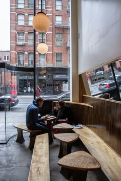 the tables! | a coffee geek's guide to new york // la colombe