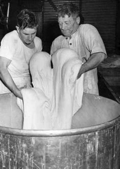 Army baking in the field bakery, Australian Army Service Corps    ca.1943   # Pin++ for Pinterest #