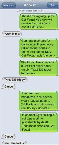 Cat Facts (: