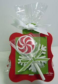 Inking Idaho: Peppermint Lollipop Candy Bags
