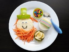 Fun St. Patrick's Day lunch idea for kids by Meet the Dubiens!