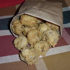 Homemade Fat Ronnie's Deep Fried Mushrooms. This fried mushroom recipe will have you wanting the whole bag.