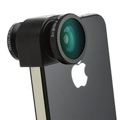 clip-on lenses for iphone- great guy gift ideas!