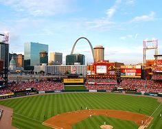 Take Me Out To The Ballgame! Busch Stadium and the Cardinals are a St. Louis Combo!