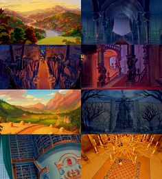 Scenic shots from Beauty and the Beast