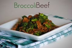 The Farm Girl Recipes: The Best Broccoli Beef
