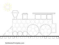 Dot marker printables for kids  www.dotmarkerprintables.com
