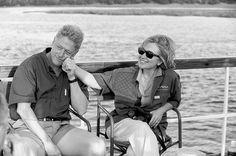Hillary and Bill Clinton