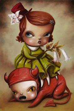 Kathie Olivas #painting