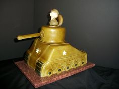 Army Tank Cake-By The Mad Platters