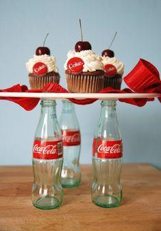 Cherry Coke Float Cupcakes