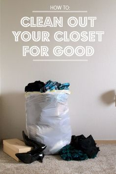 Find out how to finally say good-bye to those clothes you never wear and purge your closet of all that negative clutter.