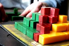 """""""Unschooling Tools: Math Play""""  Part of a series of WONDERFUL posts about how to live learning, and learn through play.  Awesome links to a variety of math tools/games/toys/books/projects for many ages"""