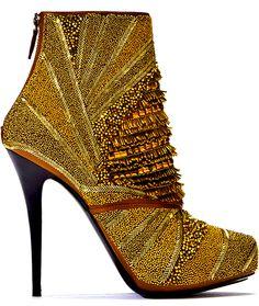 pinterest.com/fra411 #shoes -  Barbara Bui bead boot, pinterestcomfra411 shoe