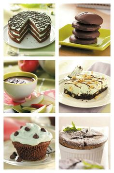 Chocolate Mint Recipes from Taste of Home