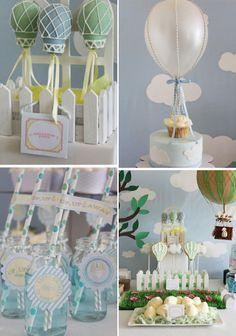 Hot Air Balloon party theme ideas